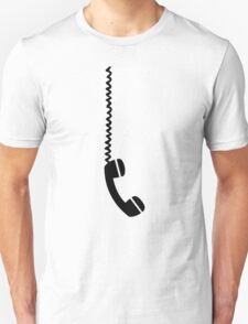 Telephone receiver cable T-Shirt