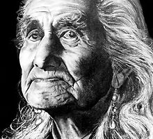 Chief Dan George by Margaret Harris