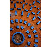 rusty sewer Photographic Print