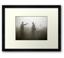 Hunter life Framed Print