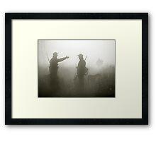 Hunter life Framed Print