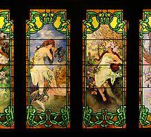 The Four Seasons by Adam Bykowski