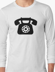 Telephone symbol Long Sleeve T-Shirt