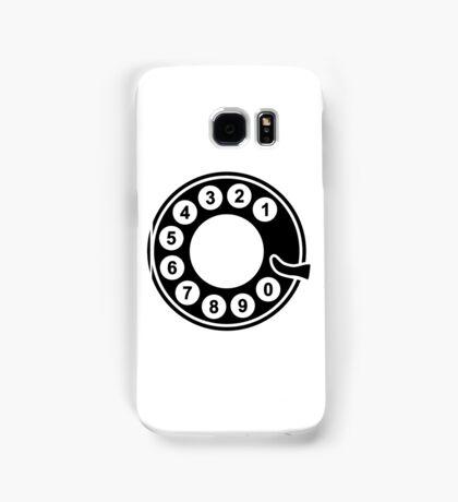 Telephone dial plate Samsung Galaxy Case/Skin