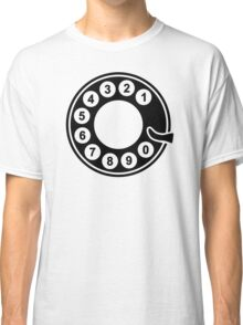 Telephone dial plate Classic T-Shirt