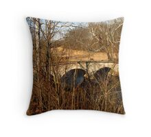 """Burnside Bridge"" Throw Pillow"