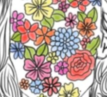 Flower Harry  Sticker