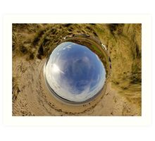 Lisfannon Beach, Fahan, County Donegal - Sky In Art Print