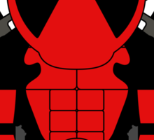Mini-Heros - Deadpool Sticker