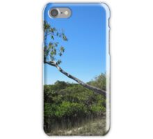 Defying Gravity! Tin Can Bay Walk. Queensland. iPhone Case/Skin