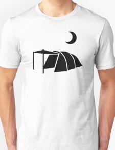 Tent moon Unisex T-Shirt