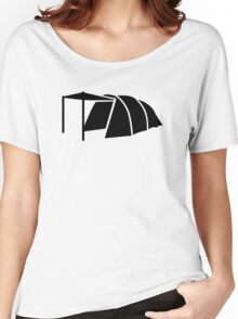 Black tent Women's Relaxed Fit T-Shirt