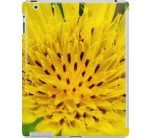 Yellow Salsify Flower iPad Case/Skin