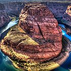 Horseshoe Bend on the Colorado River by Roger Passman
