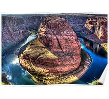 Horseshoe Bend on the Colorado River Poster