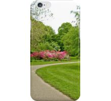 Fairmount Park Azalea Garden - Philadelphia Pennsylvania USA iPhone Case/Skin