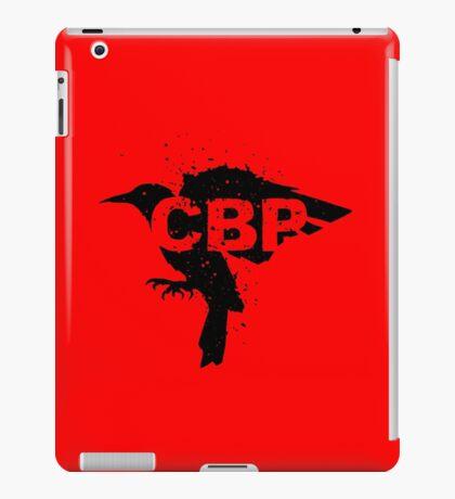 Crippled Black Phoenix Logo (Black) iPad Case/Skin