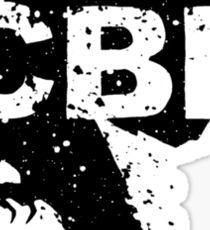 Crippled Black Phoenix Logo (Black) Sticker