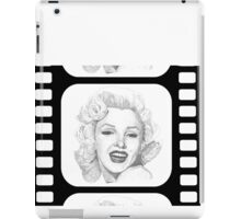 Marilyn Monroe on film iPad Case/Skin