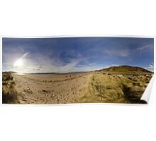 Lisfannon Beach, Fahan, County Donegal, Equirectangular  Poster