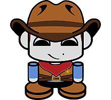 Cowboy O'bot 1.0 Photographic Print