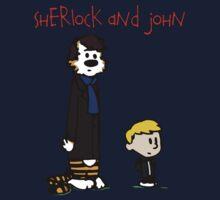 Sherlock Hobbes and John Calvin Kids Clothes