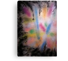 universe mapping Canvas Print