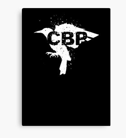 Cripple Black Phoenix Logo (White) Canvas Print
