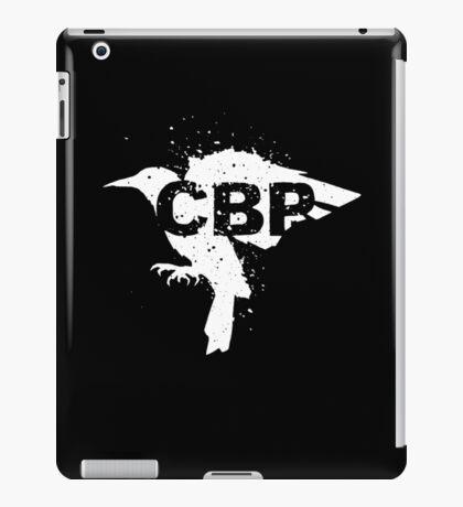 Cripple Black Phoenix Logo (White) iPad Case/Skin