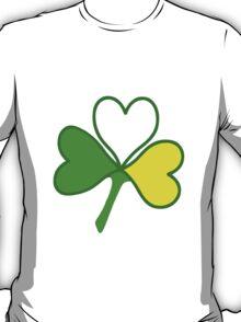 St Patricks Day Hearts (Large) T-Shirt