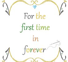 For the First Time in Forever Needlepoint by WDWCEC23