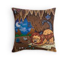 Wee Beasties - Wee Manticore Throw Pillow