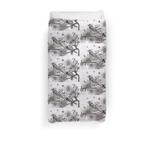 moonlight birds Duvet Cover