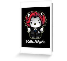Hello Skeptic Greeting Card