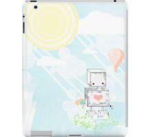 Summer Robot iPad Case/Skin