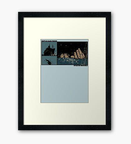 Operation Mincemeat Framed Print