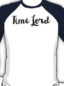 Doctor Who - Time Lord T-Shirt