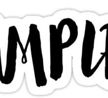 Vampire T-shirt Sticker