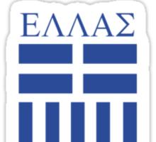 Greek Badge Tee Sticker