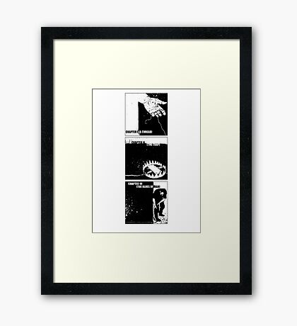 Three Chapters Framed Print