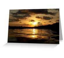 Reflect My Love, Reflect My Actions Greeting Card
