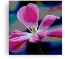 Playful Pop Tulip Canvas Print