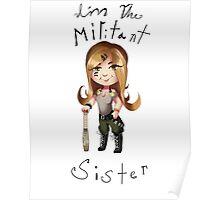Militant sister Poster