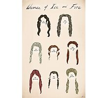 Ladies of Ice and Fire Poster Photographic Print