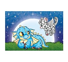 Wee Beasties - Wee Dragon & Fierce the Winged Kitten by whimsyworks