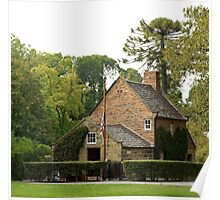 Captain Cook's Cottage #2 Poster