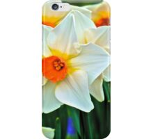 Orange or White iPhone Case/Skin