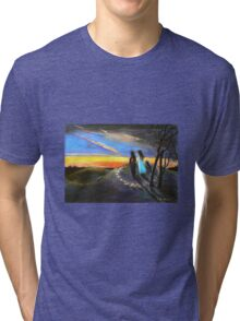 Collaboration with Redbubble Author, Enivea .....Dancing in the Dawn Tri-blend T-Shirt