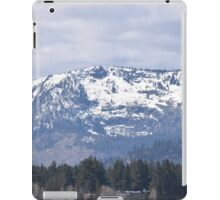 Snow Covered Mountain Tops iPad Case/Skin