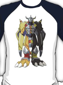 (Black)Wargreymon T-Shirt